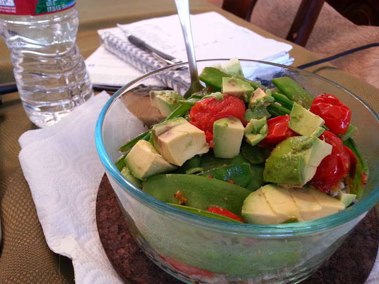 Clean Eating Lunch - daily cooler. Easy Bowl.