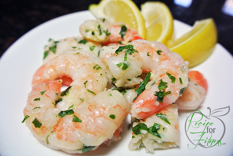 Easy lemon and garlic shrimp - clean and healthy recipe