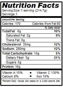 Nachos Lunchables Nutrition Facts - Nutrition Ftempo