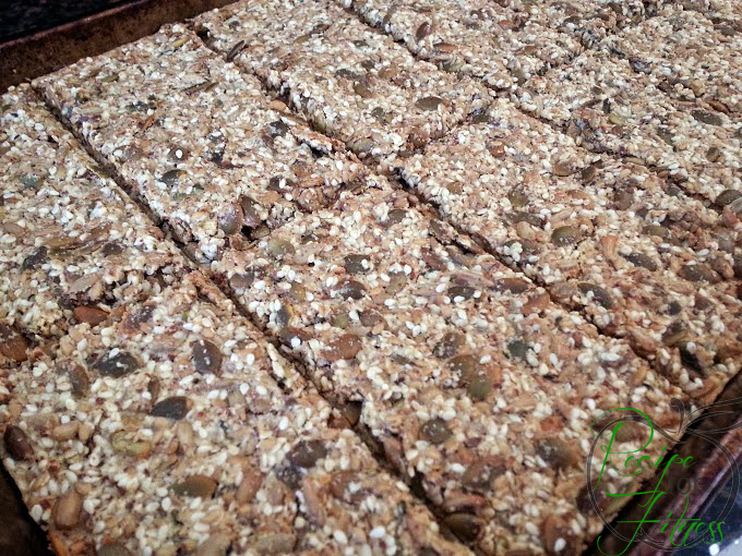 Recipe for gluten free nut and seed cracker flatbreads